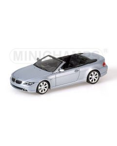 BMW 6-SERIES CABRIOLET SILVER WITH ENGINE 2006 L.E. 1008 PCS.