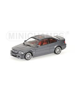BMW M3 COUPE GREY METALLIC WITH ENGINE 2000 L.E. 744 PCS.