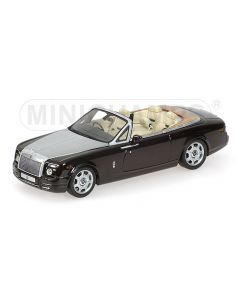 ROLLS ROYCE PHANTOM DROPHEAD COUPE 2007 BLACK METALLIC