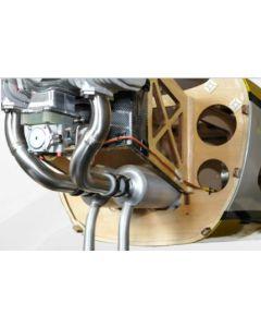 Canister + coude d'échappement Extra 330SC Pilot RC 92'' DLE 60