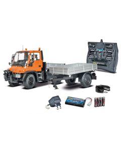 UNIMOG carson 500907174 2.4GHz RTR Engin de chantier radiocommandé électrique à l'échelle 1/12