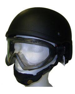 Casque type SWAT noir