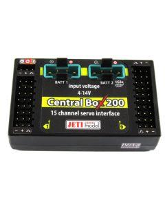 Central BOX 200 Duplex 2.4EX Jeti model + 2 Rsat2