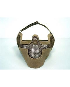 Masque de protection Grillage Dark Earth TAN - TMC0013 - Tactical Gear TMC