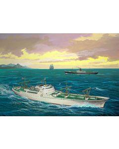 First nuclear pwered merchant vessel N/S SAVANNAH