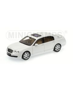 BENTLEY CONTINENTAL FLYING SPUR RIGHT-HAND-DRIVE 2005 WHITE