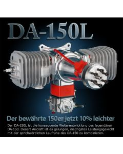 Moteur Desert Aircraft DA 150 - Moteur essence 2 temps 150 cm3