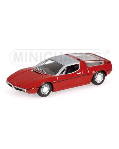 MASERATI BORA 1972 RED L.E. 1200 PCS.