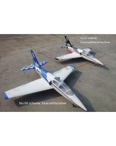 Dolphin jet Pilot RC 2.2m - Kit - bleu et blanc version sport