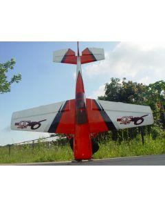 Yak 55M Pilot RC - 122'' (38%) 3,10m - Rouge/Blanc - 150 à 180 cc