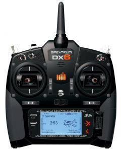 SPEKTRUM DX6 avec récepteur AR610 6 voies SPM6700