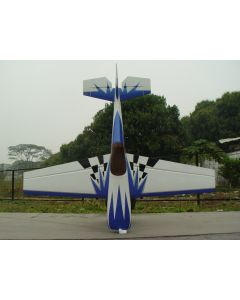 Edge 540 Pilot RC 2.70m - Bleu / Blanc / Gris