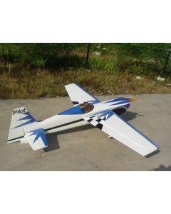 Edge 540 Pilot RC (24%) 1,85m - Bleu / Blanc / Gris