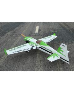 Edge 540 Pilot RC (24%) 1,85m - Vert / Noir / Gris