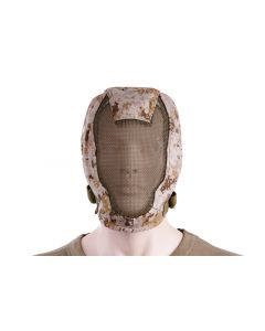 Extreme Metal Mesh Face Mask Digital Desert - TMC0953 - Tactical Gear TMC