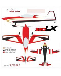 Extra 330LX Krill Model (34%) 2.60m - Gernot Bruckmann- 100 à 120cm3