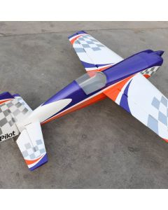 Extra 330SC Pilot RC 1.98m - Orange Purple Argent - 30 - 40cm3