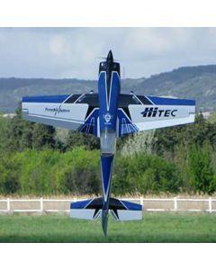 Extra 330SC Pilot RC 2.34m - Bleu / Blanc / Noir - 50 - 60cm3