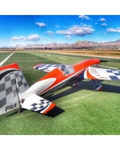 Extra 330SC Pilot RC 1.98m - Orange checker - 30 - 40cm3