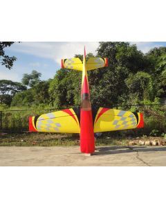 Extra 330SC Pilot RC 1.98m - Rouge / jaune checker 30 - 35cm3