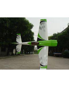 Extra 330SC Pilot RC 2.34m - Vert / Blanc checker 50 - 70cm3