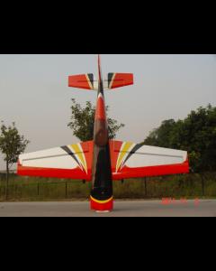 """Extra 330SC Pilot RC 122"""" (40%) 3.10m - Rouge/Noir/Argent 150 - 170cm3"""