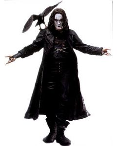 Figurine 18 inch The Crow