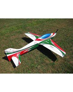 Wind S Pro Full composite ARF Vert / Blanc / Rouge - Sebart - by Sebastiano Silvestri