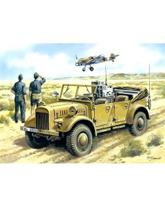 WWII German Radio Car le.gl.Einheits.Pkw ICM