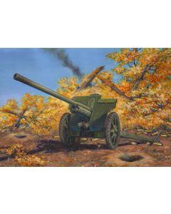 WWII Soviet Divisional Gun 76.2mm F-22 ICM