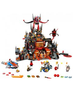Le repaire volcanique de Jestro LEGO 70323