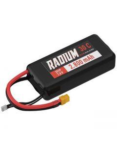 Lipo 2s 7.4v 2800 mah 30C Radium Yuki Model