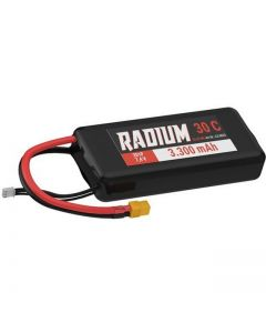 Lipo 2s 7.4v 3300 mah 30C Radium Yuki Model