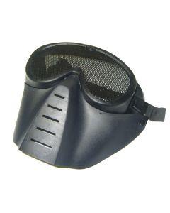 Masque de protection perforé Noir