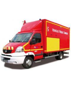 Renault Mascott 2009 Pompiers Véhicule Risque Chimique 1/43 NOREV