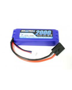 PACK LI-PO 7.4V 2000 MAH 25C maXXtRAx - Traxxas E-revo vxl - Compatible avec toute la gamme VXL 1/16e Traxxas
