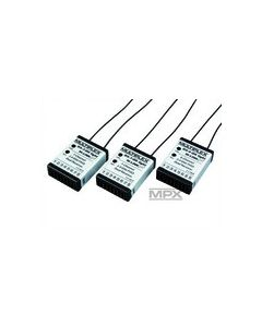 Multiplex pack 2.4 Ghz multiplex M-link 2x Rx7 + 1x Rx6
