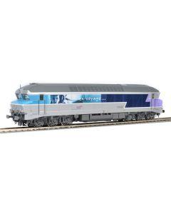 Locomotive HO CC72058 En Voyage ROCO