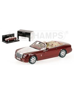 ROLLS ROYCE DROPHEAD COUPE RED METALLIC 2007 L.E. 2400 PCS.