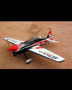 Sbach 342 Pilot RC - 73'' (26%) 1,85m - Noir/Blanc/Rouge - 30cm3