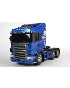 Scania R620 blue edition - Camion électrique Tamiya radiocommandé - 56327