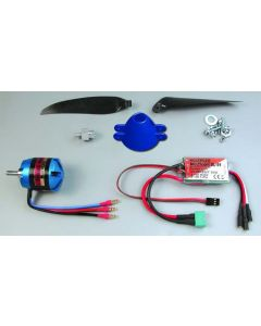 "Set de propulsion brushless ""BLIZZARD"" tuning  - Multiplex"