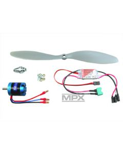 "Set de propulsion brushless "" PARKMASTER "" - Multiplex - avec Li-Po 3s 950 mah"