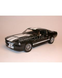 Ford Mustang Gt500 Shelby 1967 Noir bandes blanches - Shelby190