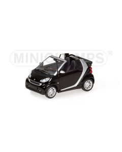 SMART FORTWO CABRIOLET BLACK 2007 L.E. 1248 PCS.