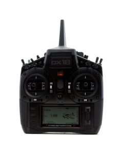 Spektrum DX18 Stealth Edition - RADIO-COMMANDE - SPM18200EU - Mode 2