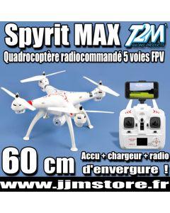 Quadrocoptère Electrique Spyrit Max FPV - T2M - T5167