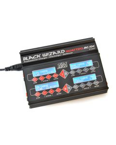 Black Wizard Quattro - Chargeur 4 sorties - T2m