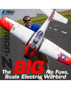 E-flite Carbon-Z T28 BNF / PNP 1.98m : Avion électrique Eflite