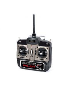 radio - Pilot 6G 2.4GHz FHSS - T2M - avec récepteur - T3423